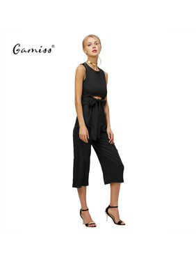 4ff7518248be Product Image Women s Sexy Sleeveless Wrap Top Jumpsuits