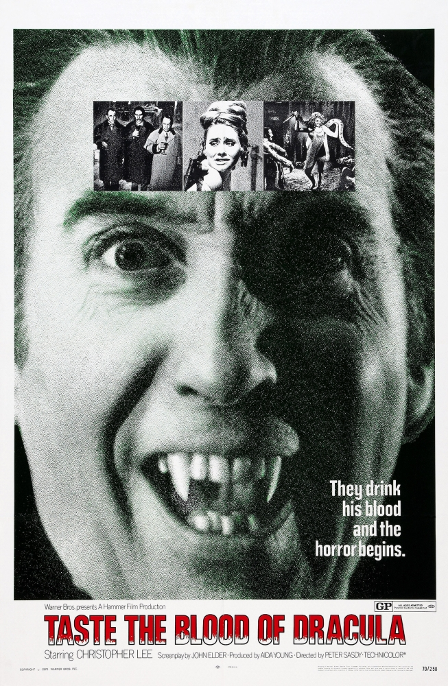 Christopher Lee Taste Blood Of Dracula 24X36 Poster