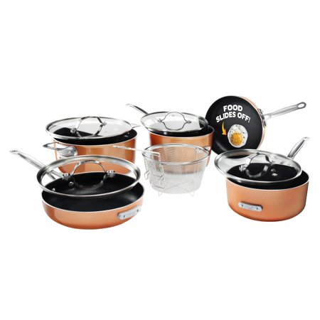 Gotham Steel 10pc Stackmaster Cookware Set