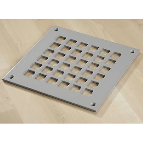 "Reggio Registers G808-SNH Grid Series 6"" x 6"" Floor Grille without Mounting Holes"