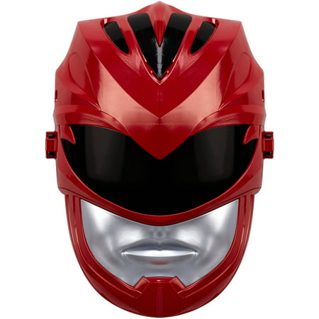 Power Rangers Movie - Red Ranger Sound Effects Mask (Smiley Movie Mask)
