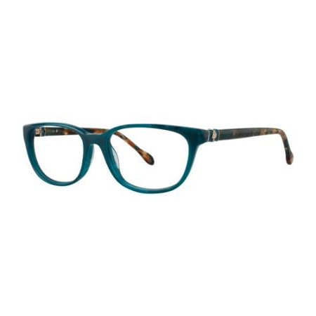 Clearance Lilly Pulitzer (LILLY PULITZER Eyeglasses SANIBEL Teal Marble)
