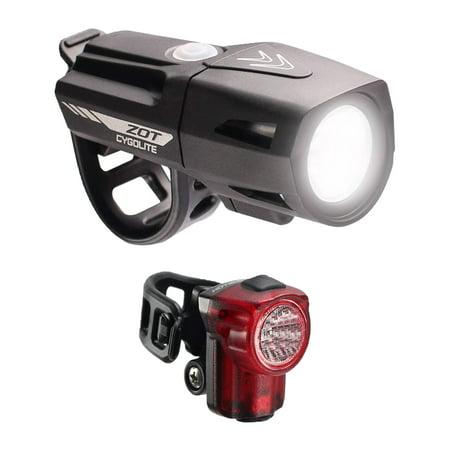 Cygolite Zot 450 Lumen Headlight & Hotshot Micro 30 Lumen Tail Light Combo Set Combo Light Set