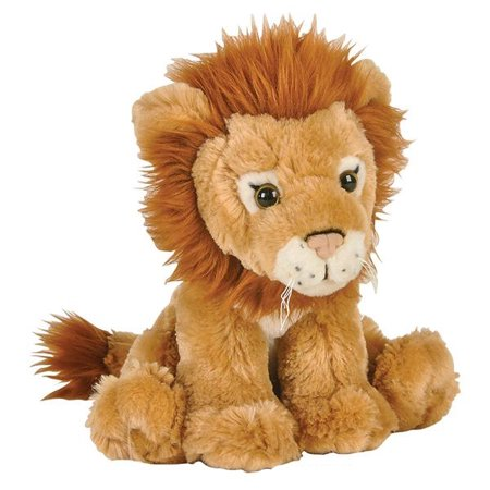 Adventure Planet Plush Animal Den - LION (8 inch) - Plush Lion