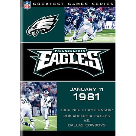 Max Eagle Series - NFL Greatest Games Series: Philadelphia Eagles 1980 NFC Championship Game (DVD)