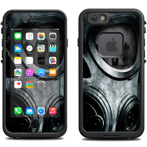 Skin Decal For Lifeproof Iphone 6 Fre Case   Gas Mask War Apocolypse by Itsaskin