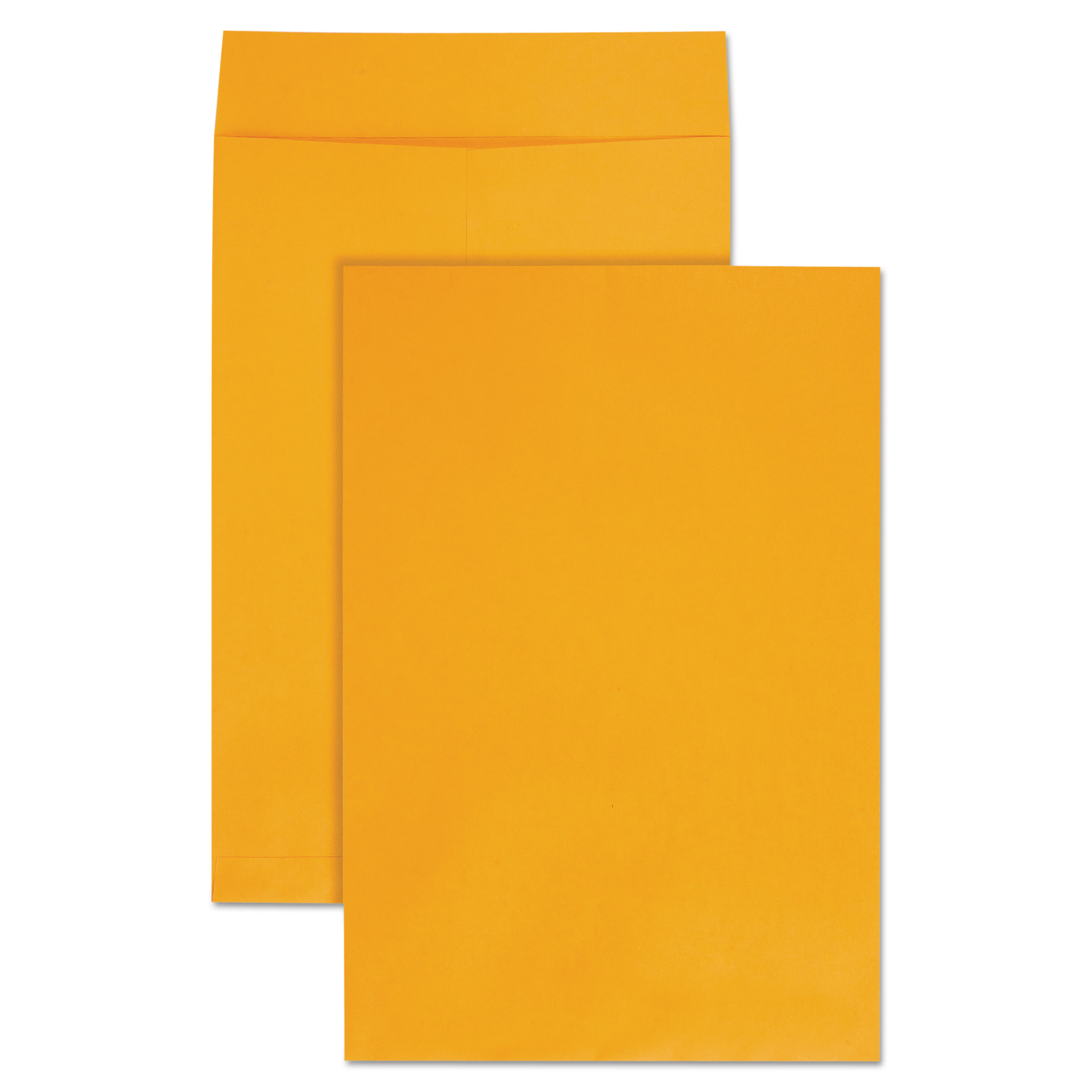 Quality Park Jumbo Size Kraft Envelope, 12 1/2 x 18 1/2, Brown Kraft, 25/Pack -QUA42353