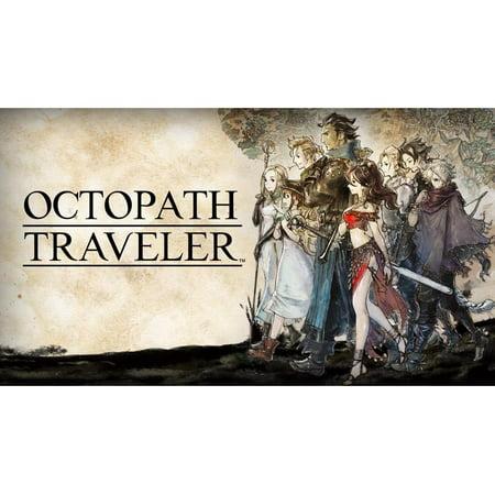 Octopath Traveler, Nintendo, Nintendo Switch, (Digital Download) 045496592158