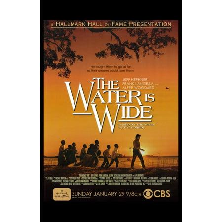 The Water Is Wide Poster Movie 27 x 40 In - 69cm x 102cm Alfre Woodard Jeff Hephner James Murtaugh Terry Nienhuis Halle Brown Frank Langella ()