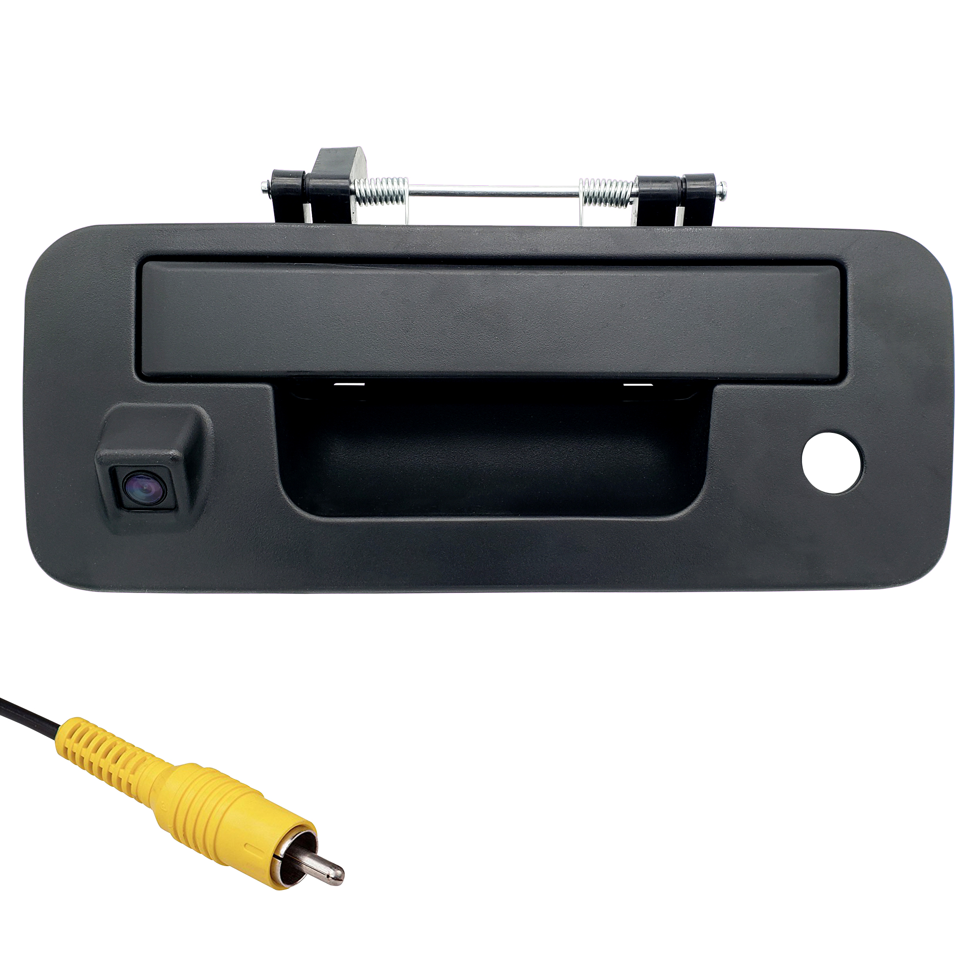 Master Tailgaters Black Tailgate Handle with Backup Camera Replacement for Nissan Titan 2013-2015