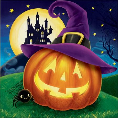 Halloween Eve Napkins, 16 pack