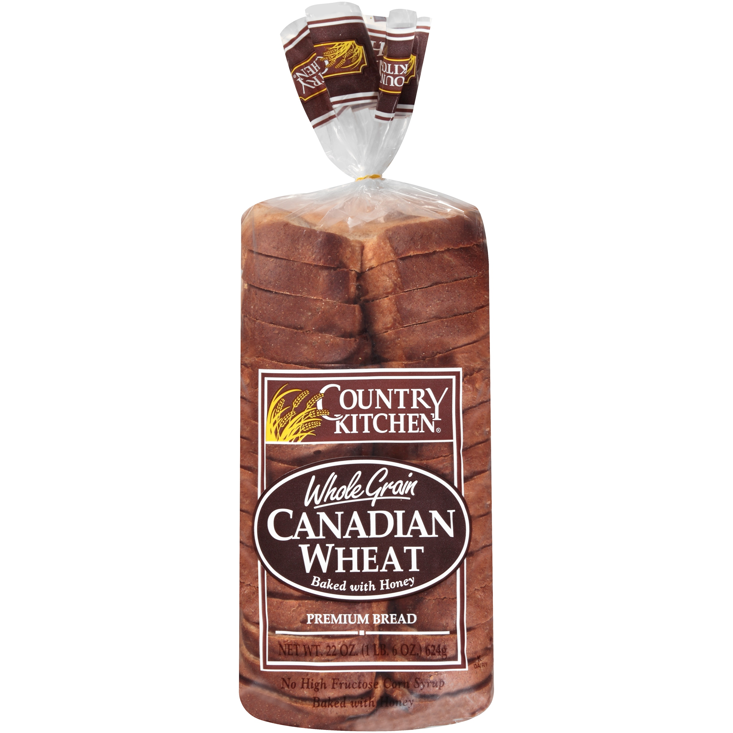 Country Kitchen® Whole Grain Canadian Wheat Bread 22 oz. Loaf