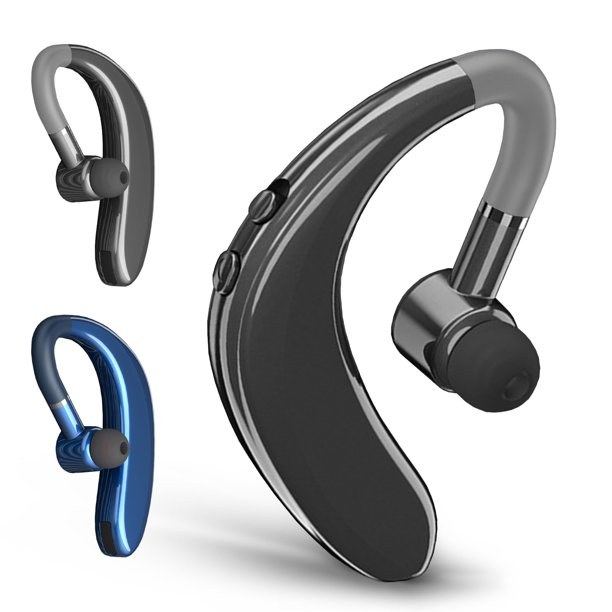 Bluetooth Headset Wireless Earpiece Bluetooth 5 0 For Cell Phones In Ear Piece Hands Free Earbud Headphone W Mic Noise Cancelling For Driving Compatible With Iphone 11 11 Pro Samsung Cellphone Walmart Com Walmart Com