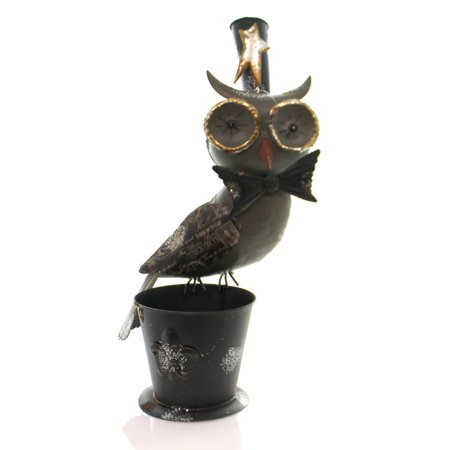 Halloween OWL BUCKET Metal Hf0010
