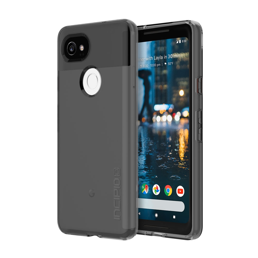 Incipio NGP Pure Google Pixel 2 XL Case with Clear, Shock-Absorbing Polymer for Google Pixel 2 XL -