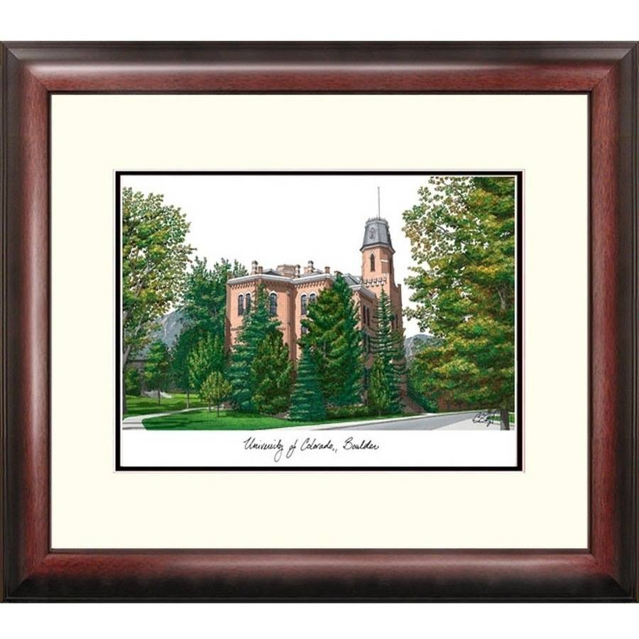 University of Colorado, Boulder Alumnus Framed Lithograph