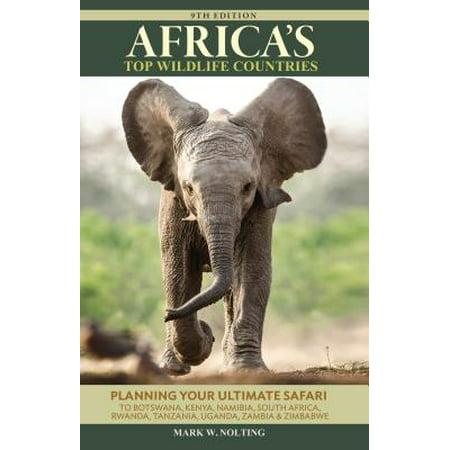 Africa's top wildlife countries : safari planning guide to botswana, kenya, namibia, south africa, r: 9780939895243](Gone Wild Safari Halloween)