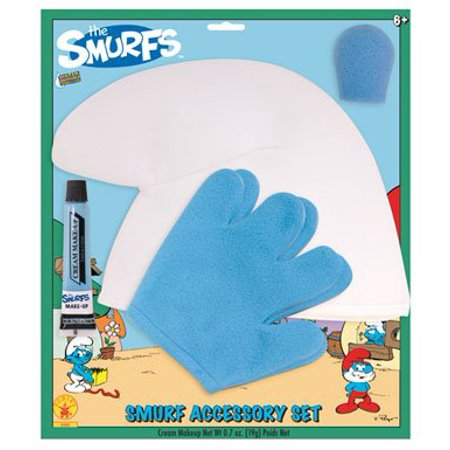 Smurfs Costume Accessory & Makeup Kit Child](Smurf Costume Women)