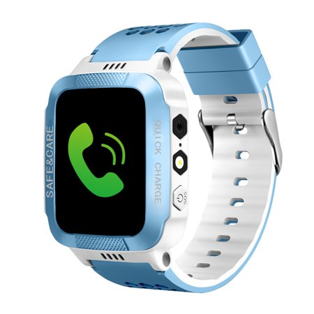 Kids Smart Watches with Tracker Phone Call for Boys Girls, Digital Wrist Watch, Sport Smart Watch, Touch Screen Cellphone Camera Anti-Lost SOS Learning Toy for Kids -