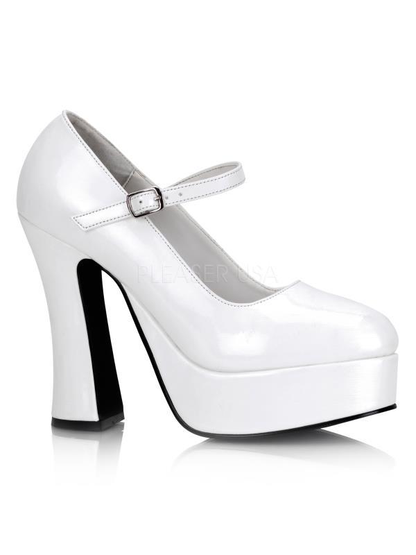 DOL50/W Demonia Platform Sandals & Shoes Womens WHITE Size: 11