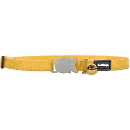 Red Dingo CC-ZZ-YE-XS Kitten Collar Classic Yellow - Red Panda Kittens For Sale