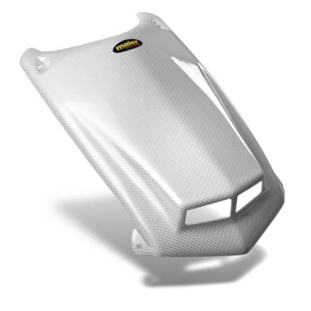Maier Mfg 50972-31 Vented Hood - White Carbon Fiber