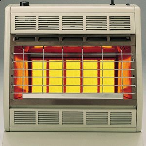 30000 Natural - Empire Infrared Heater Natural Gas 30000 BTU, Thermostatic Control
