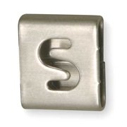 Band-It Letter S Tag, GRE028