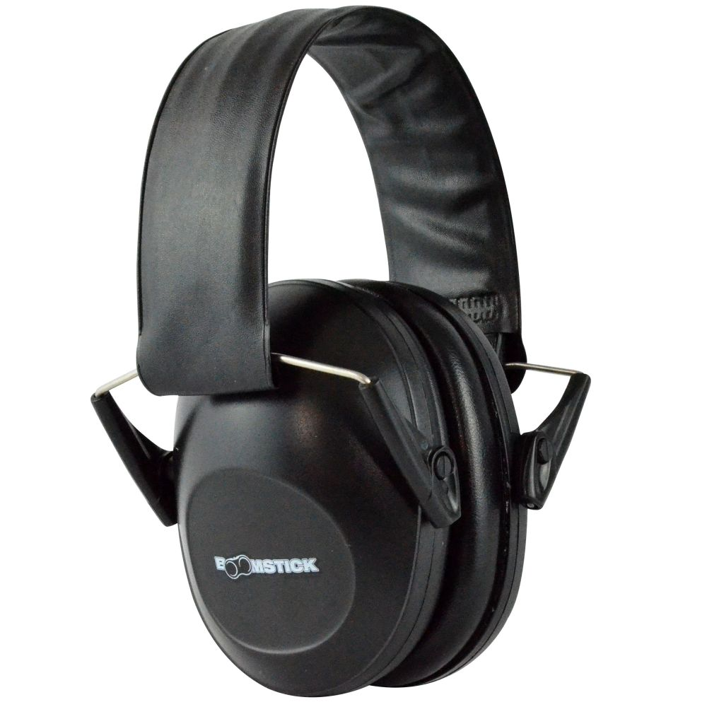 Black Over Ear Muff Hearing Protection