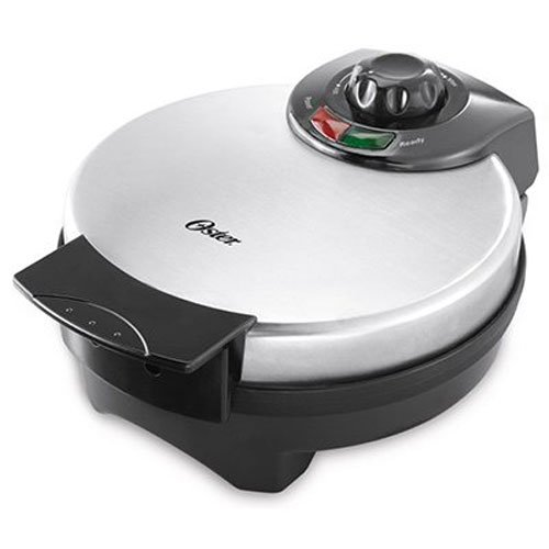 Oster CKSTWF2000 Belgian Waffle Maker,Adjustable temperature control,  Stainless Steel New!