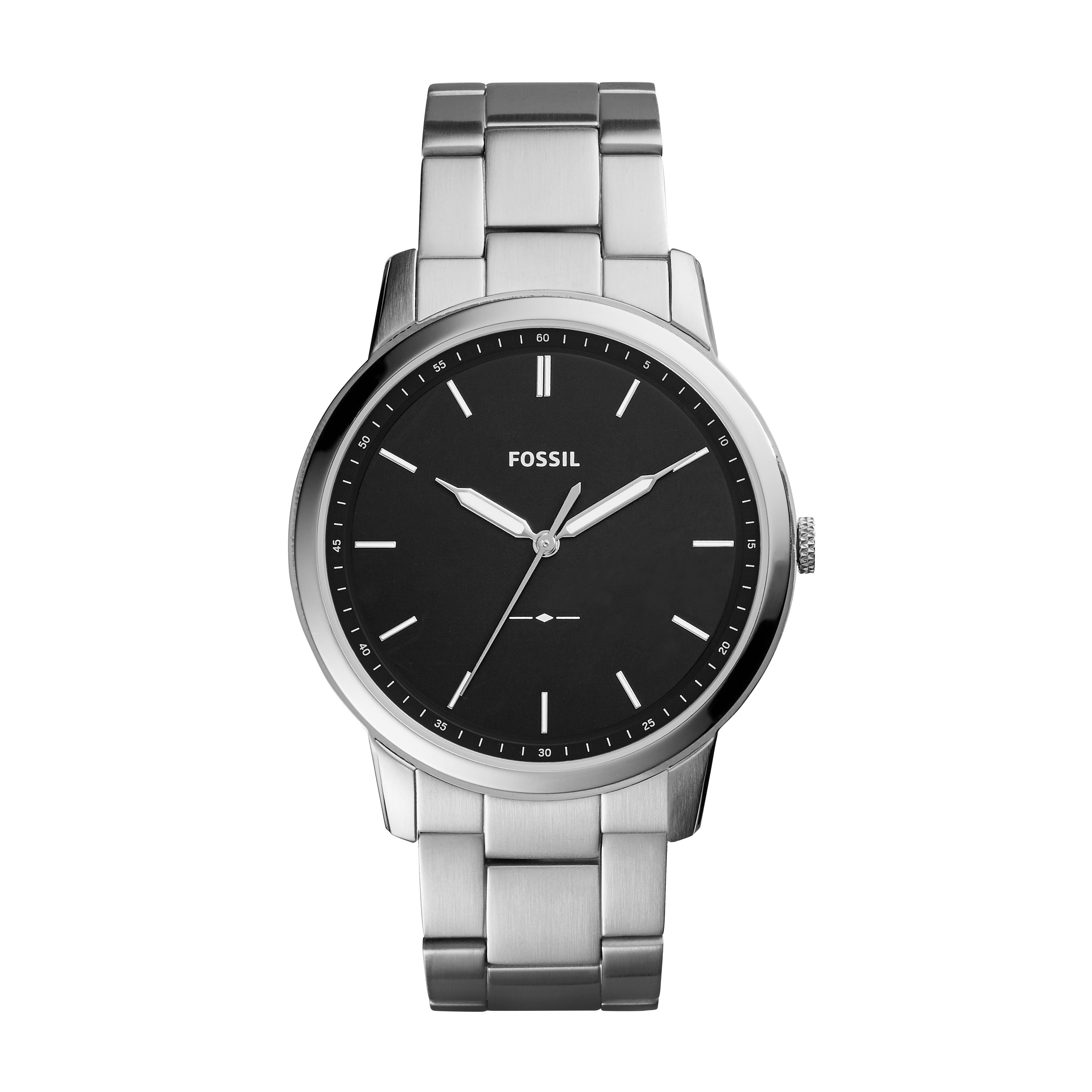 7a358a992eea Fossil - Men s The Minimalist Three-Hand Stainless Steel Watch (Style   FS5459) - Walmart.com