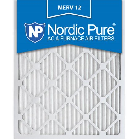 Nordic Pure 22x24x1CustomM12-6 MERV 12 AC Furnace Filters, 22 x 24 x 1 in. - Pack of 6 - image 1 of 1