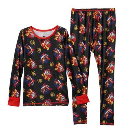 Cuddl Duds Toddler Boy Paw Patrol Thermal Long Underwear