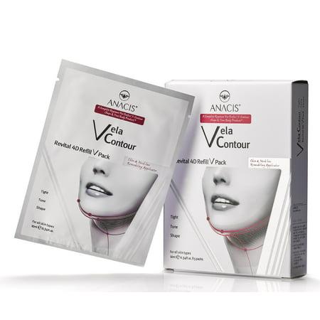 - Neck Line Lift Double Chin Reducer Slim Vela Contour 5 Facial Masks
