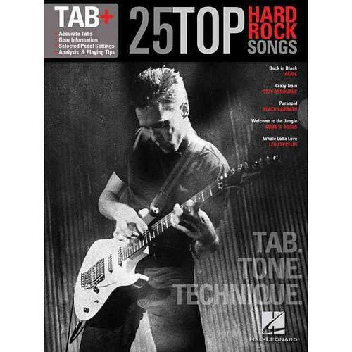 25 Top Hard Rock Songs: Tab, Tone, Technique