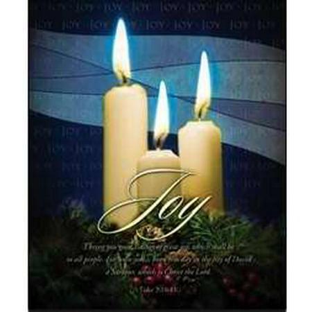 Warner Press 34837 Bulletin - Christmas Advent 3rd Sunday Joy - Legal