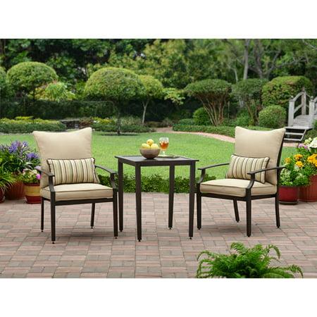 Better homes and gardens shutter 3 piece outdoor bistro - Better homes and gardens bistro set ...
