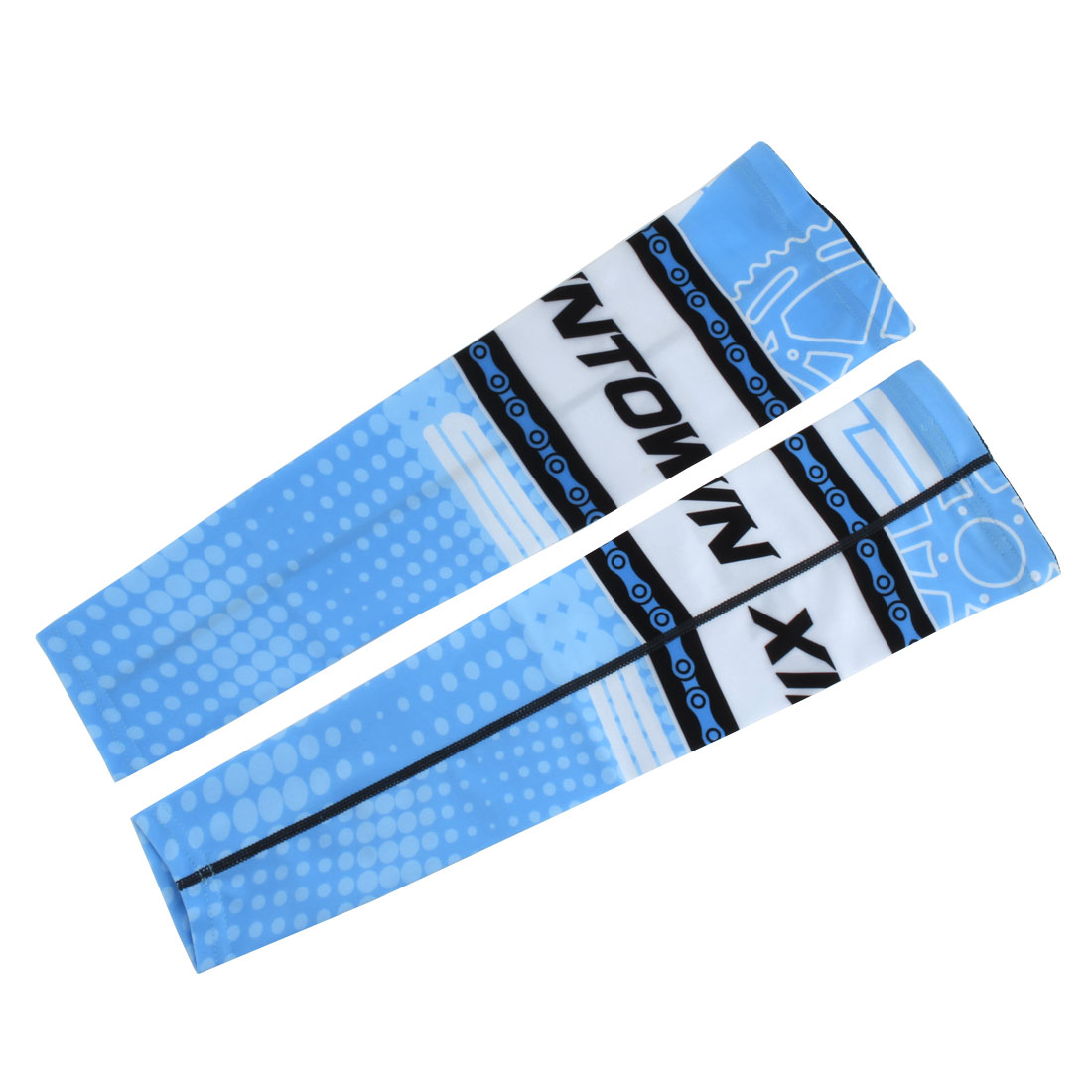 XINTOWN Authorized Unisex Cycling Baseball Arm Sleeves Cover Warmer #3 L Pair by Unique-Bargains