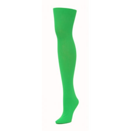 Tights - Green (Large) - Green Tights Womens
