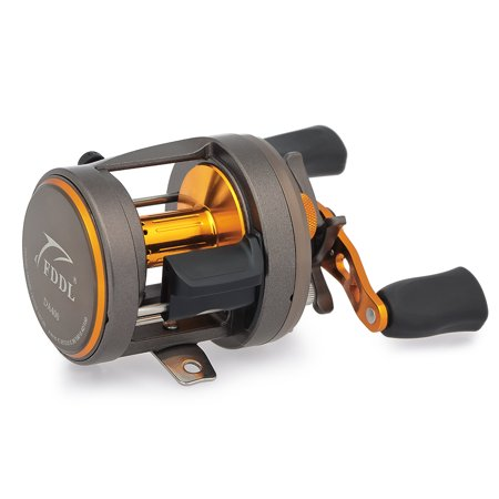 11+1 BB Ball Bearing 4.7:1 Trolling Fishing Reel Drum Fishing Plate Reel Left/Right Hand Boat Fishing Reel Baitcasting Reels thumbnail