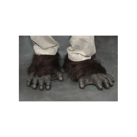 Gorilla Feet Adult Halloween Accessory for $<!---->