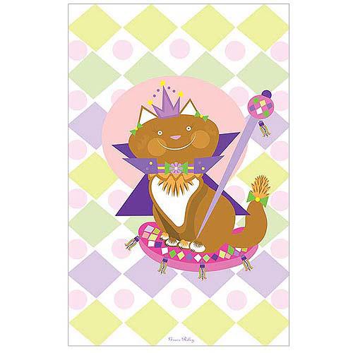"Trademark Art ""Pretty Kitty Princess"" Canvas Art by Grace Riley"