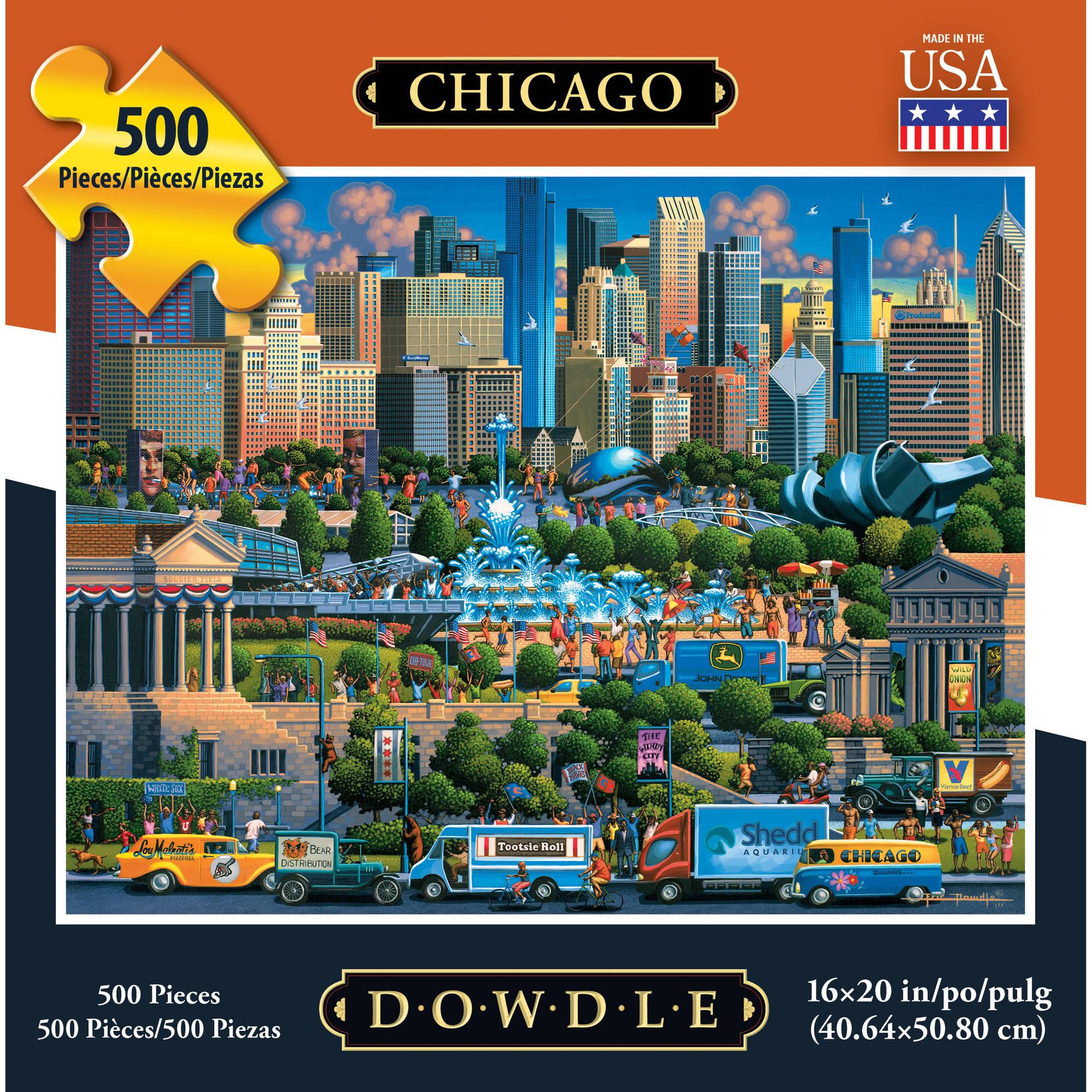 Dowdle Chicago 500pc Puzzle