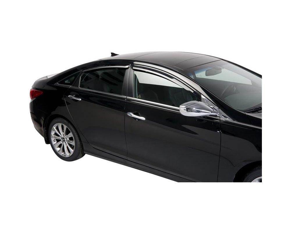 Putco 580007 Window Visor For 2011 2014 Hyundai Sonata Front And Rear Driver And Passenger Side Walmart Com