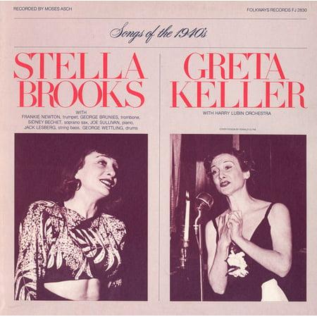 Halloween Songs 1940s (Brooks/Keller - Diverse Songs & Moods of the 1940's: Stella Brooks)