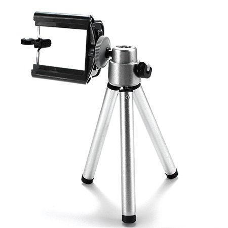 360° Rotatable Stand Tripod Holder for Universal Cellphone Camera ()