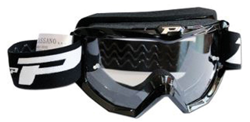 RACE LINE GOGGLES W ANTISCRATCH LENS BLACK by Progrip