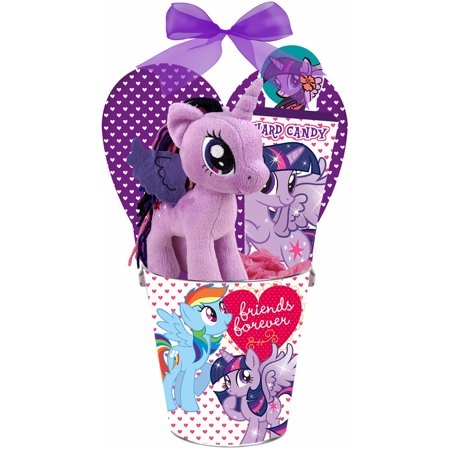My Little Pony Friends Forever Tin Can With Candy Valentine Gift Set