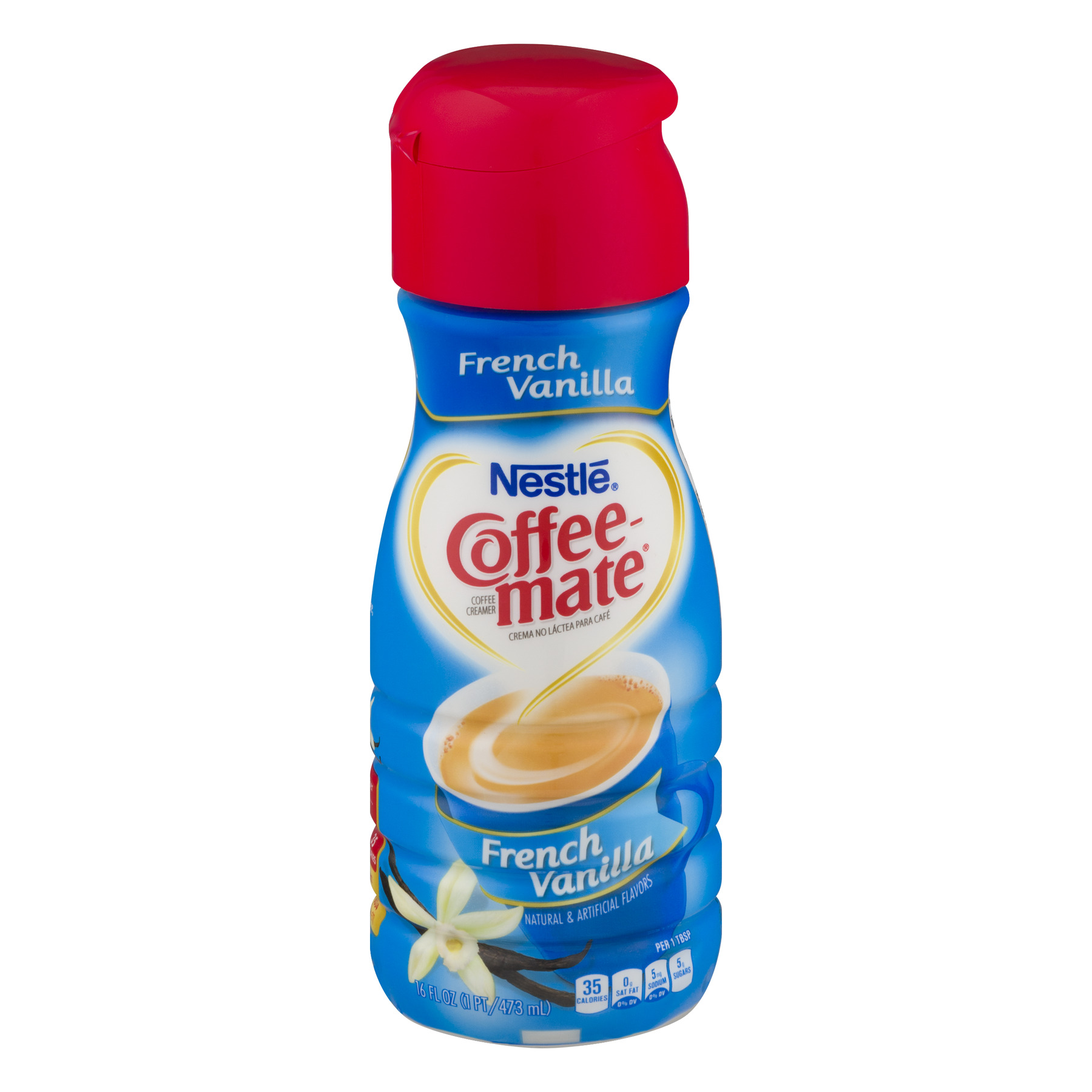 Nestle Coffee-Mate Coffee Creamer French Vanilla, 16.0 FL OZ