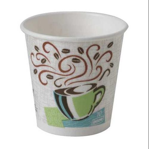 Disposable Hot Cup, White ,Dixie, 5356DX